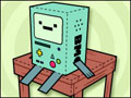 Beemo Paper Toy