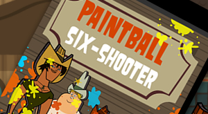 Paintball Six Shooter