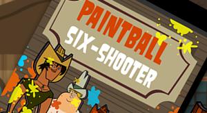 Paintball Six Shooter