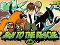 Ben To The Rescue | Ben 10 Games